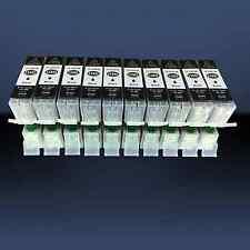 10x XL Schwarz-Patrone für Canon PIXMA MG5650 MG6650 MG5550 IP7250 MG5450 MG6450