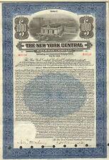 USA, The New York Central Railroad Company, Gold Bond, USD 1.000, 1921