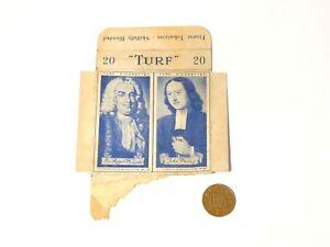 Original Carreras Turf Brand Card British History No. 16 and No. 47 a/f