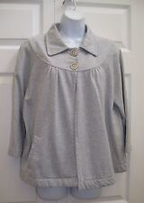 CROFT & BARROWS  WOMEN'S XL CASUAL JACKET GREY GRAY GREY NEW
