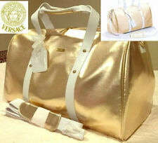 100%AUTHENTIC LARGE VERSACE GOLD COUTURE Weekend~Luggage~Holiday~Travel CASE BAG