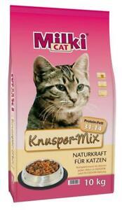 Milki Cat® Knusper Mix Trockenfutter Katze 10 kg (2,10 EUR/kg)