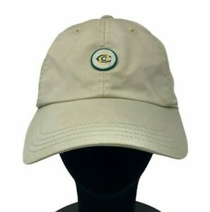 Oakmont Country Club American Needle Khaki Strapback Embroidered Logo Golf Hat