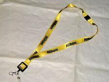 New Nikon Camera Lanyard Neck Keychain Keys USB MP3 Retractable ID Holder