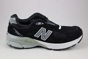 Women's New Balance Running 990 V3 Black/Silver/White W990BK3