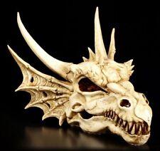Wandrelief / Figur - Schädel des letzen Drachen - Drachenschädel Totenkopf Deko