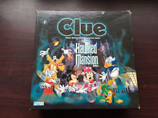 CLUE HAUNTED MANSION GAME 2004 FAMILY BOARD 100% COMPLETE