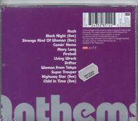 DEEP PURPLE-Anthems-CD-Brand New-Still Sealed