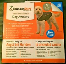 Thundershirt Anxiety Coat for Dogs. Size Small - (43-53 cm / 7 - 11Kg) GRAY