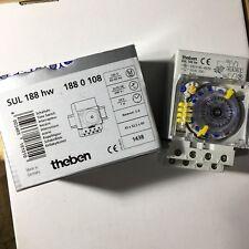 Theben - SUL188HW - Interrupteur / Horloge modulaire électromécanique - 1880108