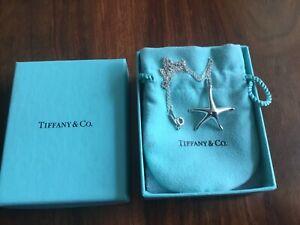 Tiffany & Co Sterling Silver Starfish Pendant