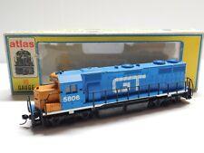 HO Scale - Atlas - Grand Trunk Western GP-38 Diesel Locomotive Train GTW #5806