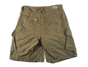 Under Armour Fish Hunter Nylon Shorts Men's Size 30 Cargo Khaki - New With Tags