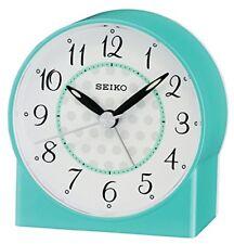 Seiko Sweep Second Bip de Main Réveil - Bleu Analogue Qhe136l