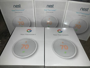 🔥 Nest Thermostat E - White - Model T4000ES - New/Sealed - MSRP $139.99 LOOK!🔥