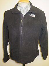 North Face Mid-weight Polartec Full Zip Fleece M UK 12/14 Black Euro 40/42
