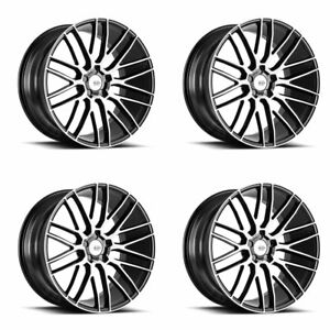 "19"" SAVINI BM13 MACHINED CONCAVE WHEELS RIMS FITS BMW 528 530 535 545 550"