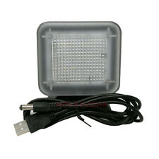 USB Charge Anti Burglar Security Timer LED TV Simulator Light Fake TV Lamp Wide