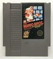 Nintendo NES Super Mario Bros. Video Game Cartridge  Authentic/Cleaned/Tested