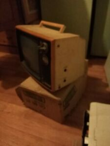 1970 Portable Television 12inch