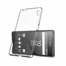 Soft Silicone Gel Back Case Cover For Sony Xperia Z5 Compact & Screen Protector
