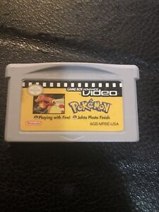 Gameboy Advance Pokemon  Video