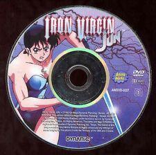 Iron Virgin Jun DVD Anime Cartoon Go Nagai NO CASE