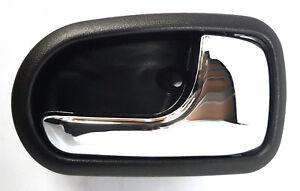 *NEW* INNER DOOR HANDLE (CHROME BLACK) for MAZDA 323 BJ 3/2001-12/2003 RIGHT RHS