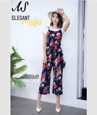 3in1 TERNO JUMPSUIT FLORAL WITH INNER #5056 (EC)