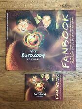 UEFA EURO 2004 PORTUGAL OFFICIAL PROGRAMME & FANBOOK MINT CONDITION SALE