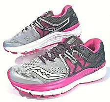 d17375bcef54 Saucony Hurricane ISO 3 Gray/PInk Women's Running Shoes Size 6.5 (S10348-1