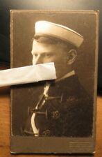 Verbindung Normannia Tübingen - 1919 - Hans Wahl als Student - CDV / Studentika