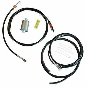 1988-1997 Chevrolet GMC Gas Trucks Complete Nylon Fuel Line Replacement Kit 11pc