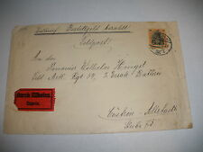 ANTIQUE 1916 GERMANY EXPRESS MAIL ENVELOPE WITH STAMP  NO RESERVE