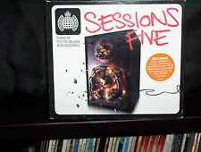 MINISTRY OF SOUND SESSIONS FIVE – MIXED BY THE POTBELLEEZ AND GOODWILL - RARE CD