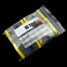 50value 1000pcs 1/4W Metal Film Resistor Assortment Kit