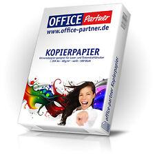 500 Blatt OFFICE-Partner Premium Kopierpapier DIN A4 Papier 80g / m² weiß