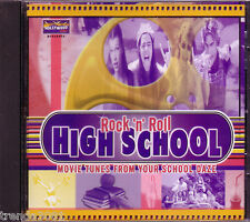 Rock Roll High School Movie Hits Hollywood Video CD Classic Greatet 80s RAMONES