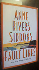 Fault Lines by Anne Rivers Siddons (1995, Hardcover)