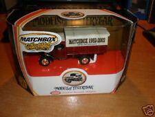 1922 Foden Steam Wagon 50th Anniversary Matchbox 52-02