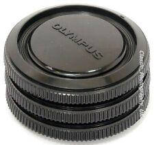 Olympus OM-System Camera Body Caps 3x for OLYMPUS OM-4 Titanium Olympus OM-3 OM2