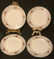 Sheffield Anniversary Fine China Dinner Plates,  Discontinued Pattern, Set Of 4