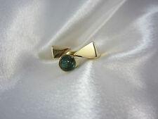 Designerring aus Gold 585 mit grünem Turmalin