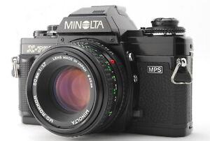 Near Mint Minolta New X-700 SLR Film Camera + MD Rokkor 50mm F/1.7 From Japan