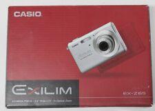 Casio Exilim ex-z65 SR camera 6.0 mega pixels In Box complete