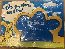 Dr. Seuss Oh the Places You'll Go Photo Picture Frame 4 x 6 - Birth /Graduation
