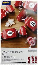 TCM Tchibo Bastel Adventskalender Schachteln aus Papier selbst befüllen Kalender