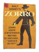 "Walt Disney's ZORRO 4-Color Dell Comics #933 1958 ""Garcia's Secret"""
