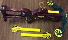 Vintage 1995 Kenner NERF Crossbow + Arrows and crossbar! Orig. Owner! Nonfunct.