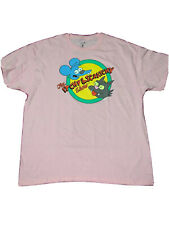 Itchy and Scratchy show  Simpsons Men Pink Short Sleeve T-shirt